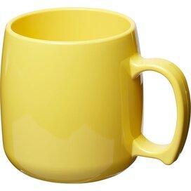Classic 300 ml kunststof mok geel