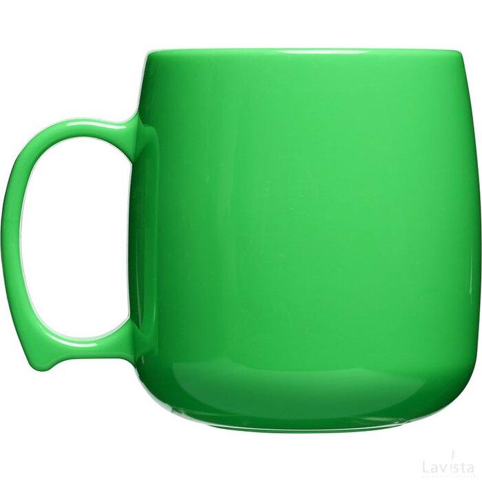 Classic 300 ml kunststof mok Groen