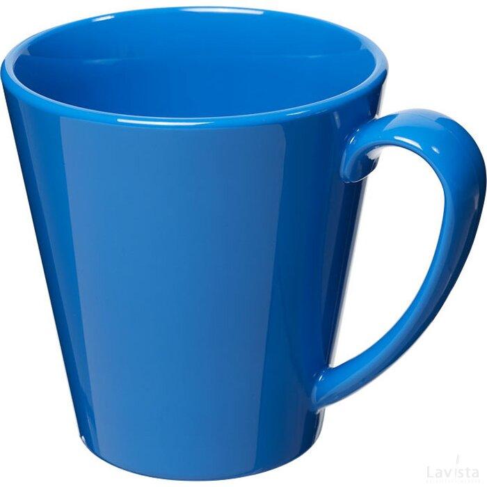 Supreme 350 ml kunststof mok blauw