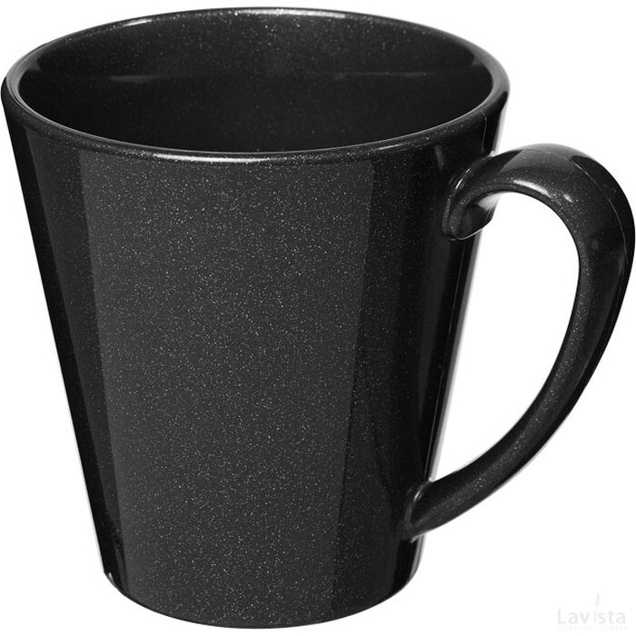 Supreme 350 ml kunststof mok Midnight Black