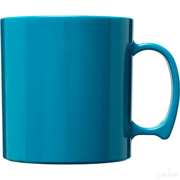 Standard 300 ml kunststof mok aqua