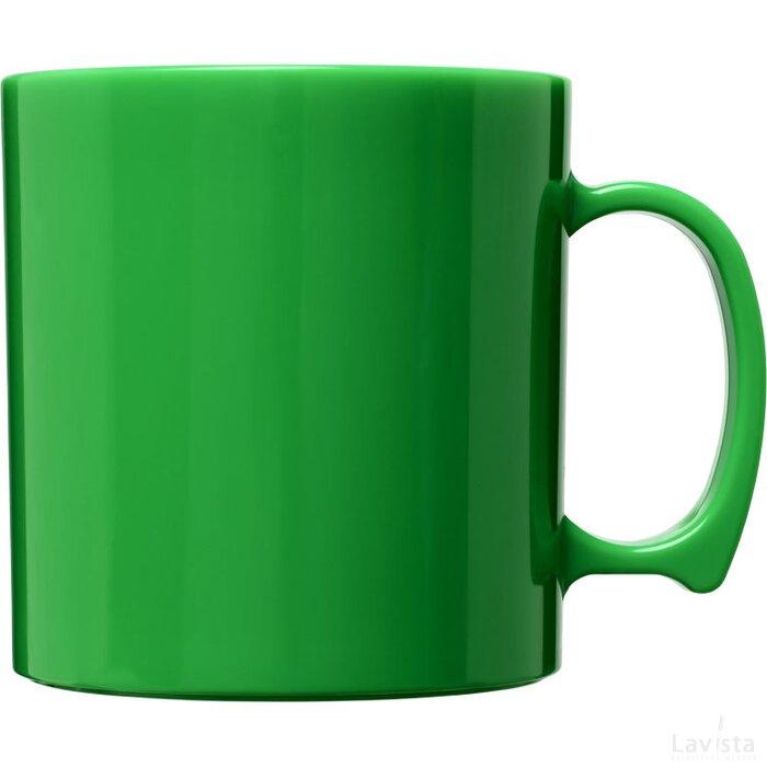Standard 300 ml kunststof mok Groen