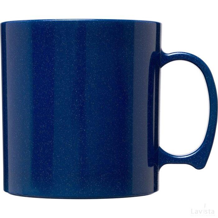 Standard 300 ml kunststof mok Mid Blue