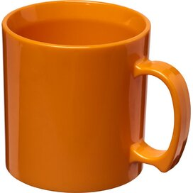 Standard 300 ml kunststof mok Oranje