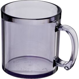 Standard 300 ml kunststof mok Transparant