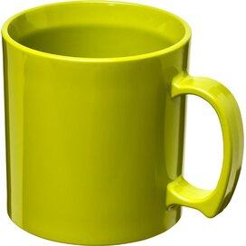 Standard 300 ml kunststof mok Lime