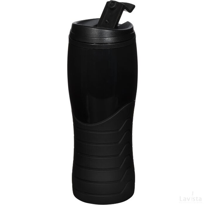 Tracker 400 ml drinkbeker Zwart