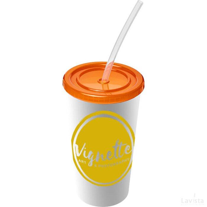 Brite Americano® 350 ml dubbelwandige beker Oranje