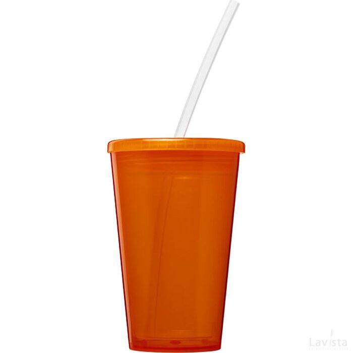 Stadium 350 ml dubbelwandige beker Oranje