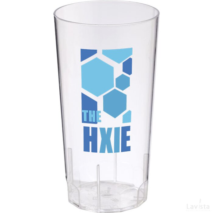 Hiball 284 ml kunststof beker Transparant