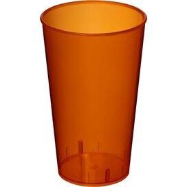 Arena 375 ml kunststof beker Transparant,Oranje
