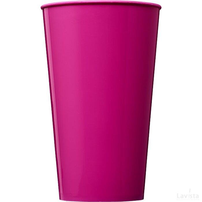 Arena 375 ml kunststof beker Roze Magenta