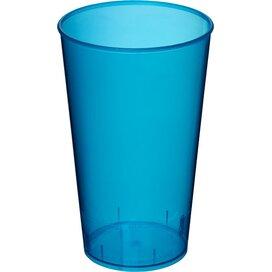 Arena 375 ml kunststof beker Transparant,aqua blauw