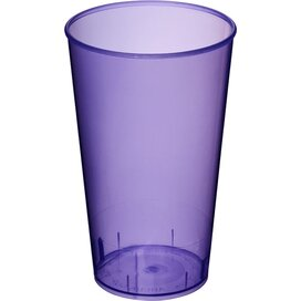 Arena 375 ml kunststof beker Transparant,Paars Transparent Purple