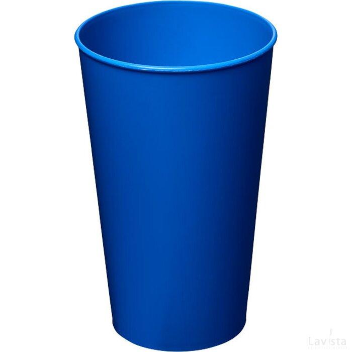 Arena 375 ml kunststof beker blauw