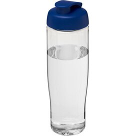 H2O Tempo® 700 ml sportfles met flipcapdeksel Transparant,blauw