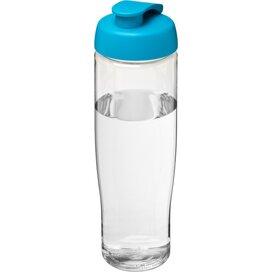 H2O Tempo® 700 ml sportfles met flipcapdeksel Transparant,aqua blauw