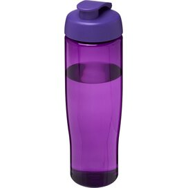 H2O Tempo® 700 ml sportfles met flipcapdeksel Paars