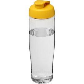 H2O Tempo® 700 ml sportfles met flipcapdeksel Transparant,geel