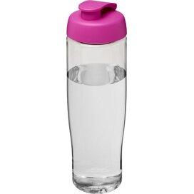 H2O Tempo® 700 ml sportfles met flipcapdeksel Transparant,Roze
