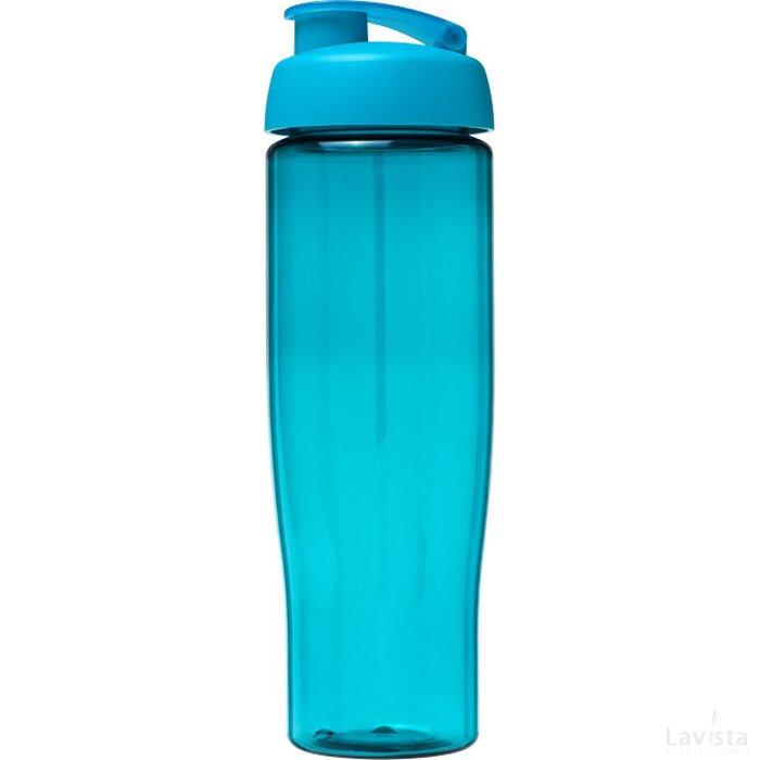 H2O Tempo® 700 ml sportfles met flipcapdeksel aqua