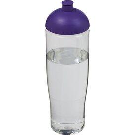H2O Tempo® 700 ml bidon met koepeldeksel Transparant,Paars