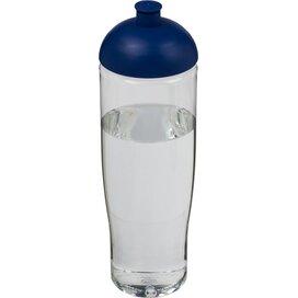 H2O Tempo® 700 ml bidon met koepeldeksel Transparant,blauw
