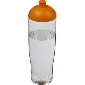 H2O Tempo® 700 ml bidon met koepeldeksel Transparant,Oranje