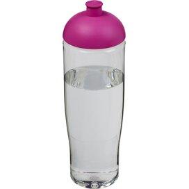 H2O Tempo® 700 ml bidon met koepeldeksel Transparant,Roze