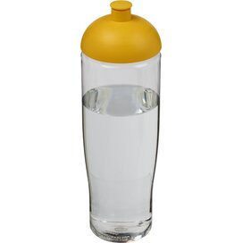 H2O Tempo® 700 ml bidon met koepeldeksel Transparant,geel