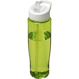H2O Tempo® 700 ml sportfles met fliptuitdeksel Lime,Wit