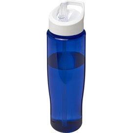 H2O Tempo® 700 ml sportfles met fliptuitdeksel blauw,Wit