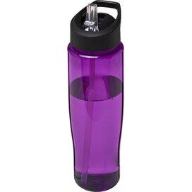 H2O Tempo® 700 ml sportfles met fliptuitdeksel Paars