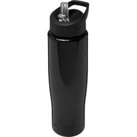 H2O Tempo® 700 ml sportfles met fliptuitdeksel Zwart