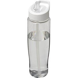H2O Tempo® 700 ml sportfles met fliptuitdeksel Transparant,Wit