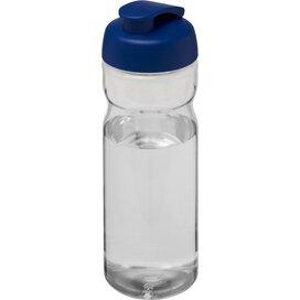 H2O Base® 650 ml sportfles met flipcapdeksel Transparant,blauw