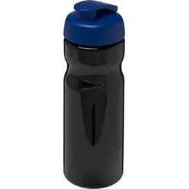 H2O Base® 650 ml sportfles met flipcapdeksel Zwart,blauw