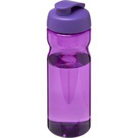 H2O Base® 650 ml sportfles met flipcapdeksel Paars
