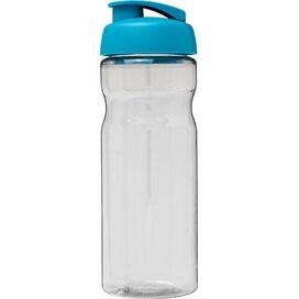 H2O Base® 650 ml sportfles met flipcapdeksel Transparant,aqua blauw