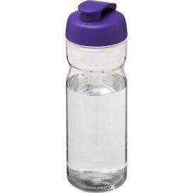 H2O Base® 650 ml sportfles met flipcapdeksel Transparant,Paars