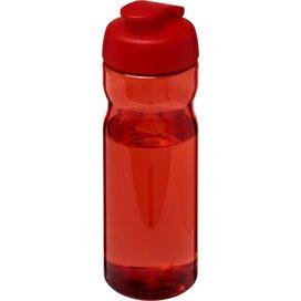 H2O Base® 650 ml sportfles met flipcapdeksel Rood
