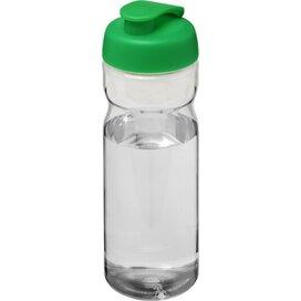 H2O Base® 650 ml sportfles met flipcapdeksel Transparant,Groen