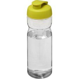 H2O Base® 650 ml sportfles met flipcapdeksel Transparant,Lime
