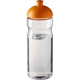 H2O Base® 650 ml bidon met koepeldeksel Transparant,Oranje