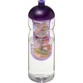 H2O Base® 650 ml bidon en infuser met koepeldeksel Transparant,Paars