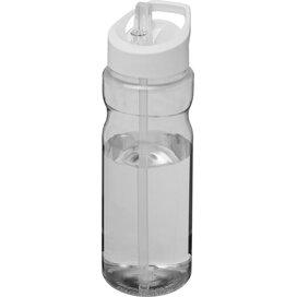 H2O Base® 650 ml bidon met fliptuitdeksel Transparant,Wit