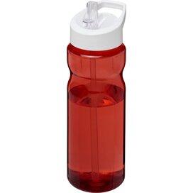 H2O Base® 650 ml bidon met fliptuitdeksel Rood,Wit