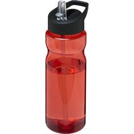 H2O Base® 650 ml bidon met fliptuitdeksel Rood,Zwart