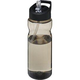 H2O Base® 650 ml bidon met fliptuitdeksel Charcoal,Zwart