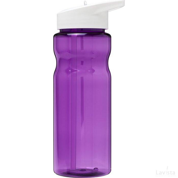 H2O Base® 650 ml bidon met fliptuitdeksel Paars,Wit